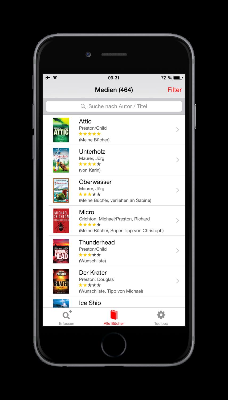 Bücher App Header Image